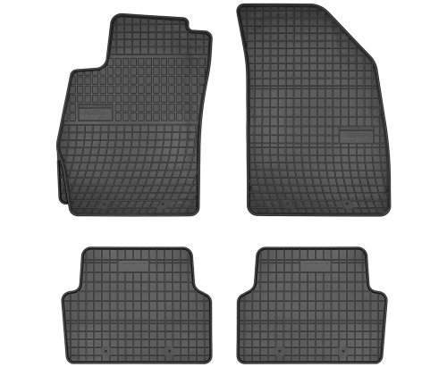 Dywaniki gumowe czarne CHEVROLET Aveo T300 od 2011
