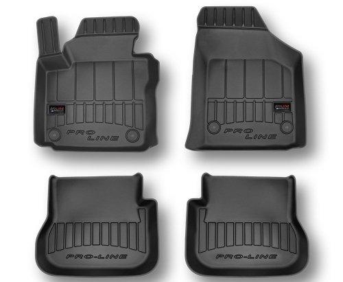 Dywaniki gumowe 3D do VW Caddy 2K Kombi od 2003