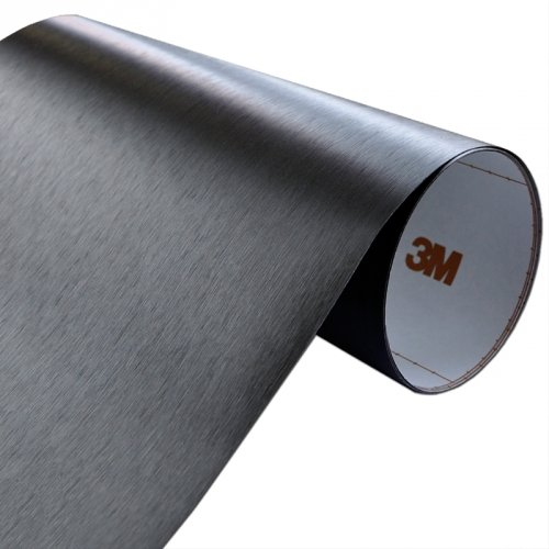Folia Szczotkowane Aluminium Czarne 3M ME1175 60x200cm