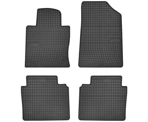 Dywaniki gumowe czarne KIA Optima II od 2015