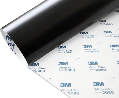 Folia Czarny Mat Satyna 3M S12 2080 152x200cm