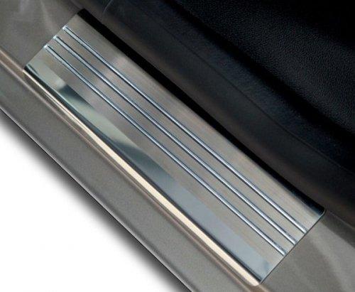 SUZUKI GRAND VITARA II 3D HATCHBACK od 2005 Nakładki progowe - stal + poliuretan [ 4szt ]