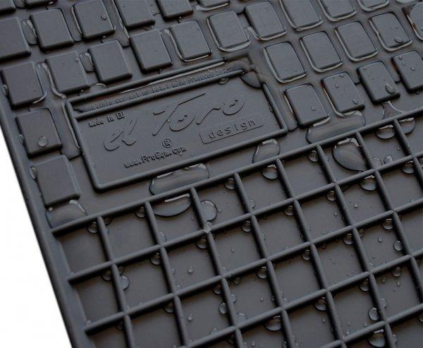 Dywaniki gumowe czarne INFINITI Q50 od 2013