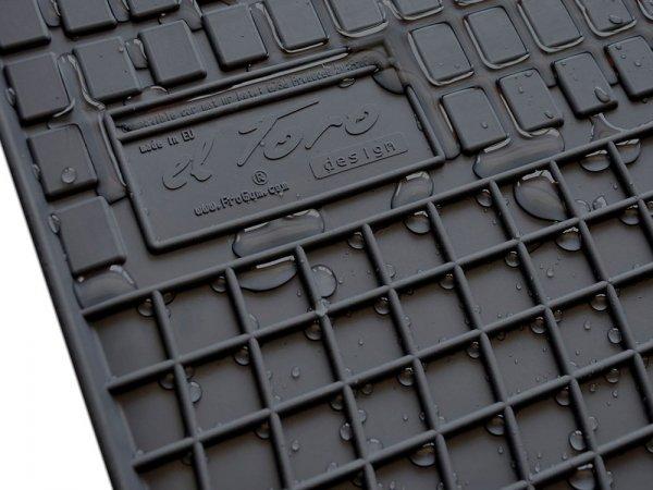 Dywaniki gumowe czarne AUDI A8 D3 2002-2009