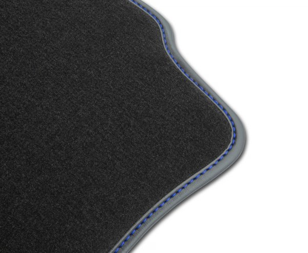F2G00000 Dywaniki welurowe Premium SKODA SUPERB I 2001-2008 8 stoperów