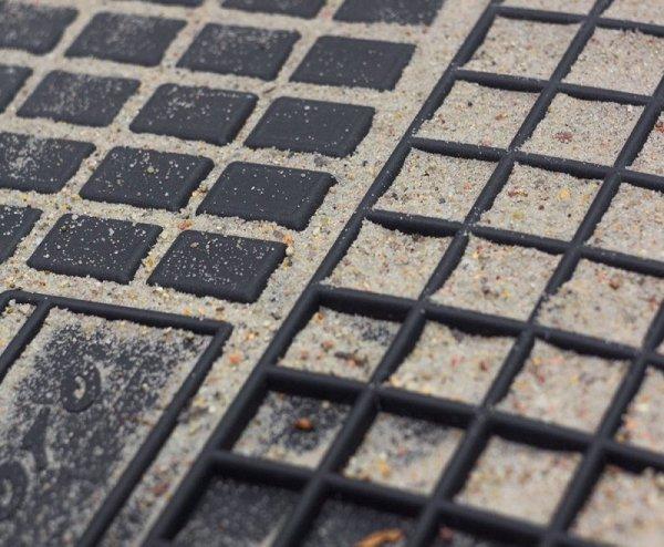 Dywaniki gumowe czarne TOYOTA Corolla Verso II 2004-2009