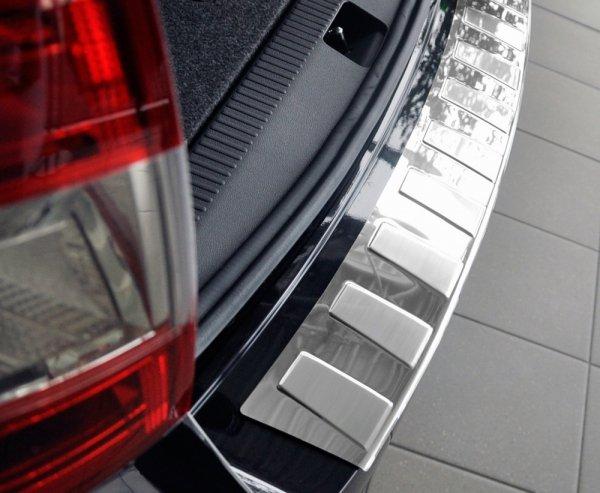 AUDI A6 C7 Allroad od 2016 Nakładka na zderzak TRAPEZ Satin
