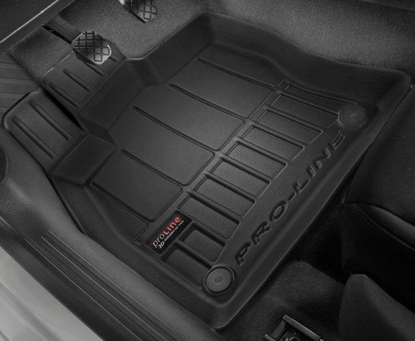 Dywaniki gumowe 3D do Audi A4 S4 RS4 B7 2004-2008 / Seat Exeo 2008-2013