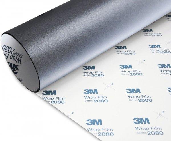 Folia Szary Mat Metallic 3M M261 2080 152x140cm