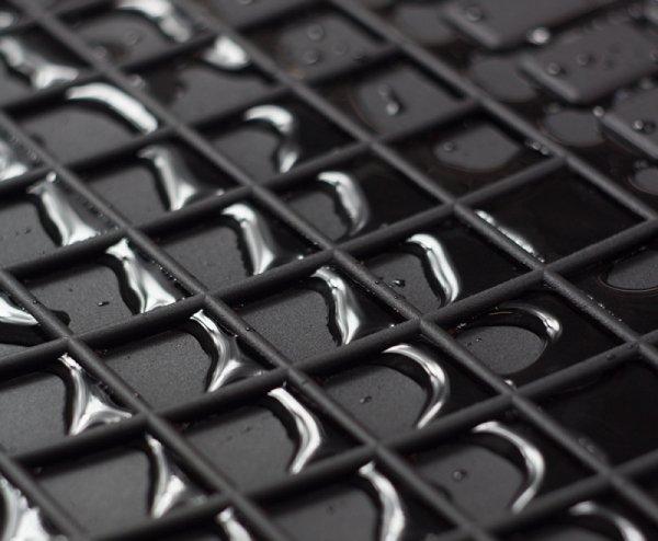 Dywaniki gumowe czarne SCANIA P od 2004