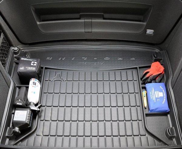 Mata bagażnika gumowa JAGUAR XJ X351 od 2010 wersja z kołem zapasowym (pełnowymiarowe)
