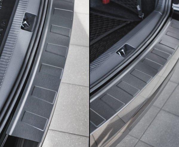 Chrysler PT Cruiser Kombi 2000-2010 Nakładka na zderzak TRAPEZ Czarna szczotkowana