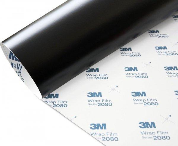 Folia Czarny Mat Satyna 3M S12 2080 152x140cm