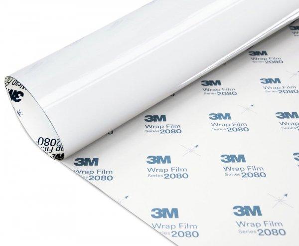 Folia Biały Połysk 3M G10 2080 152x450cm