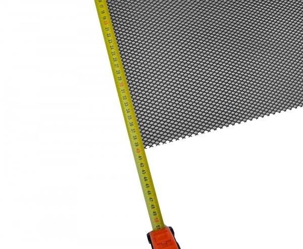 Siatka tuningowa Czarna 6,5mm x 4mm 100cm x 40cm