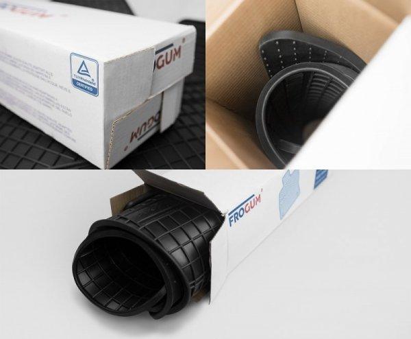 Dywaniki gumowe czarne VOLVO S60 2000-2009 | S80 1998-2006 | V70 2000-2006