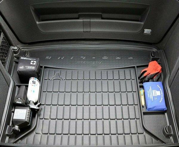 Mata bagażnika gumowa PEUGEOT 5008 I 2009-2017 wersja 7 osobowa (rozłożony 3 rząd siedzeń)