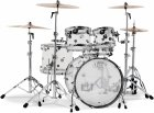 DW Design Acrylic Clear 10,12,16,22 + werbel 14x5,5 shell set