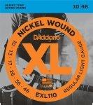 D'Addario EXL110 struny elektryczne 10-46