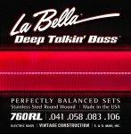 La Bella 760RL struny do gitary basowej 41-106