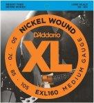 D'Addario EXL160 - XL Nickel 50-105