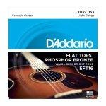 D'Addario EFT16 - Flat Tops 12-53