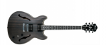 Ibanez AS53-TKF Transparent Black Flat Semi-Hollowbody