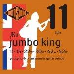 Rotosound JK11 Jumbo King phosphor bronze roundwound