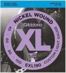 D'Addario EXL190 - XL Nickel 40-100