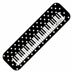PWM WEIOP190A piórnik metalowy klawiatura kropki