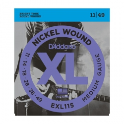 D'Addario EXL115 - XL Nickel Wound 11-49