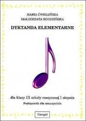 Dyktanda elementarne III, podręcznik dla nauczyciela