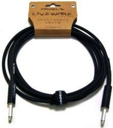 Proel LiveWire LIVEW100LU6 - kabel instrumentalny mono jack 6m
