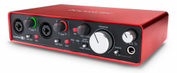 Focusrite Scarlett 2i4 2gen interfejs audio USB