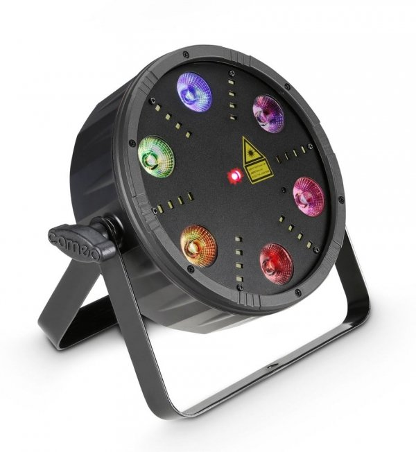 Cameo FLAT STORM PAR 3w1 strobo laser