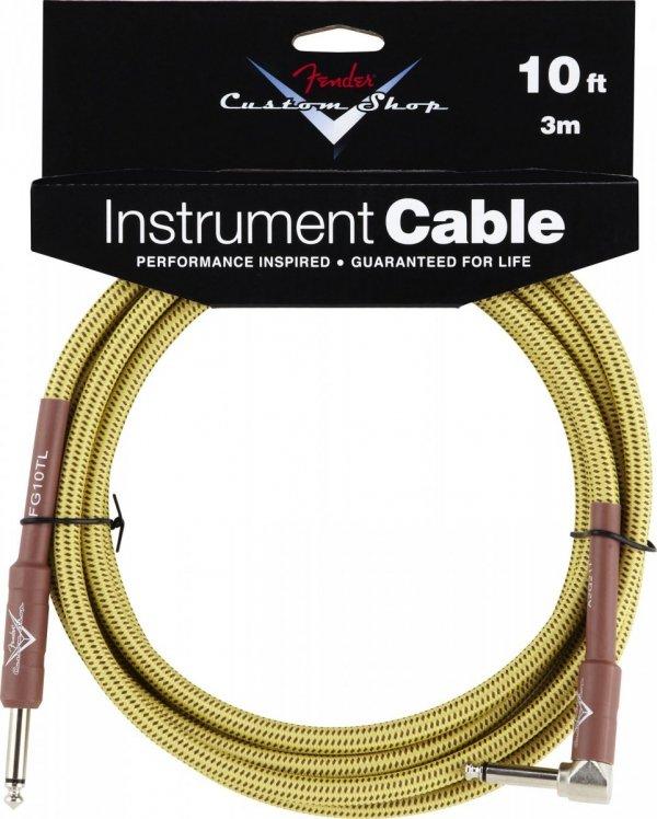Fender Custom Shop 0990820029 kabel gitarowy jack-jack kątowy 3m