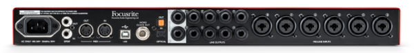 Focusrite Scarlett 18i20 2 Gen interfejs audio