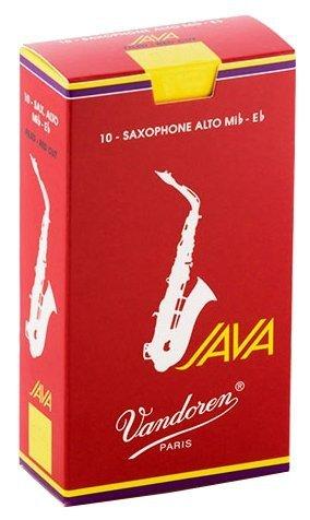 "VANDOREN SR263R Stroik do saksofonu altowago Java ""Red Cut"" - twardość 3"