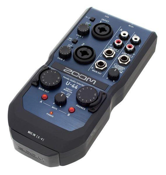 Zoom U44 mobilny interfejs audio
