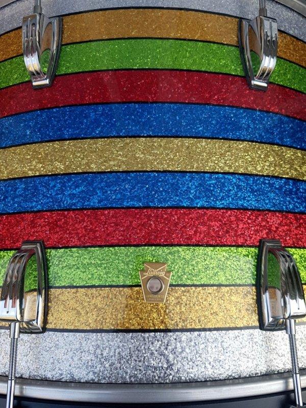 Ludwig Salesman Patrick Carney Classic Maple Shell 13,16,24 zestaw perkusyjny WYPRZEDAŻ
