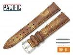 PACIFIC 18 mm pasek skórzany W123 brązowy