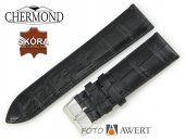 CHERMOND 24 mm pasek skórzany B007