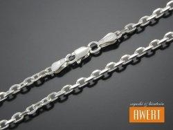 ANKER ANKIERKA łańcuszek srebrny 45 cm / 2,6 mm