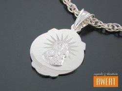 Medalik srebrny Matka Boska Częstochowska