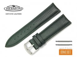 CHERMOND 22 mm pasek skórzany C103 zielony