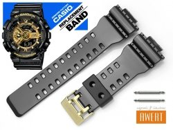 CASIO GA-110GB GAC-100BR GD-100GB GDF-100GB oryginalny pasek 16 mm