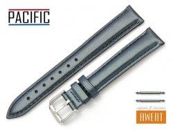 PACIFIC 16 mm pasek skórzany W114 granatowy perłowy