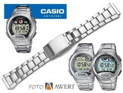 CASIO W-752 W-753 W-755 oryginalna bransoleta 18 mm