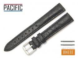 PACIFIC 16 mm pasek skórzany W123 czarny