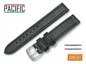PACIFIC 18 mm pasek skórzany W22 czarny